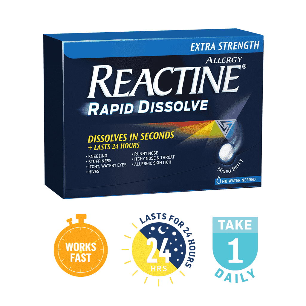 Reactine Extra Strength Rapid Dissolve small product image