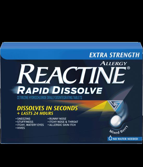 Reactine Extra Strength Rapid Dissolve