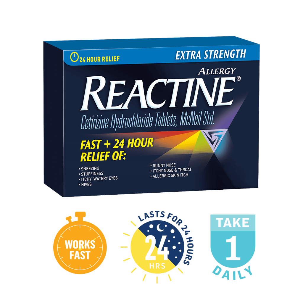 REACTINE® Extra Strength