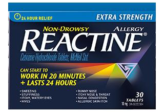 Extra Strength Non-Drowsy Reactine