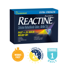 REACTINE® Extra Strength