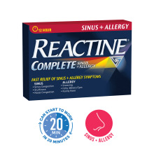 REACTINE® Complete Sinus + Allergy