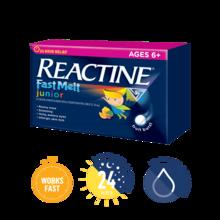REACTINE FAST MELT®