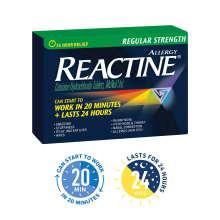 REACTINE® Regular Strength