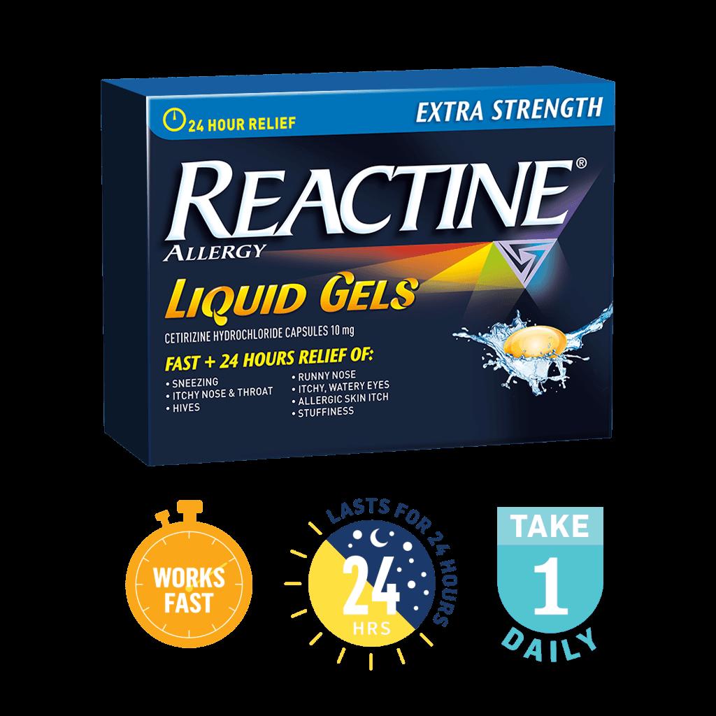 REACTINE® Liquid Gels