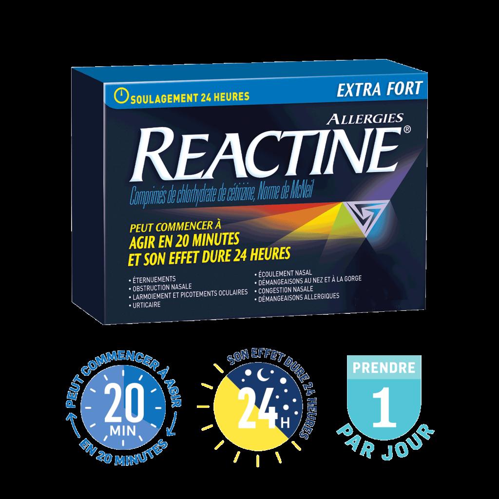 REACTINE® Extra fort