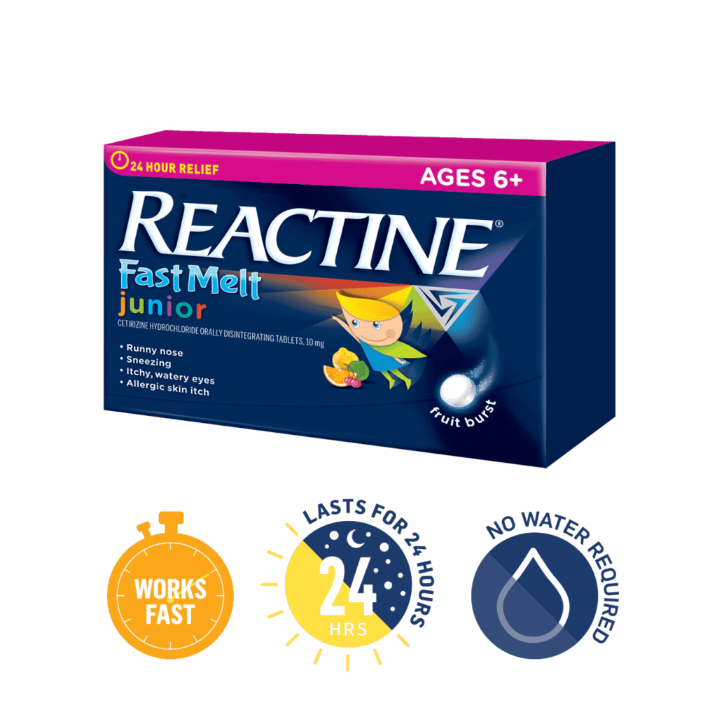 REACTINE FAST MELT®
