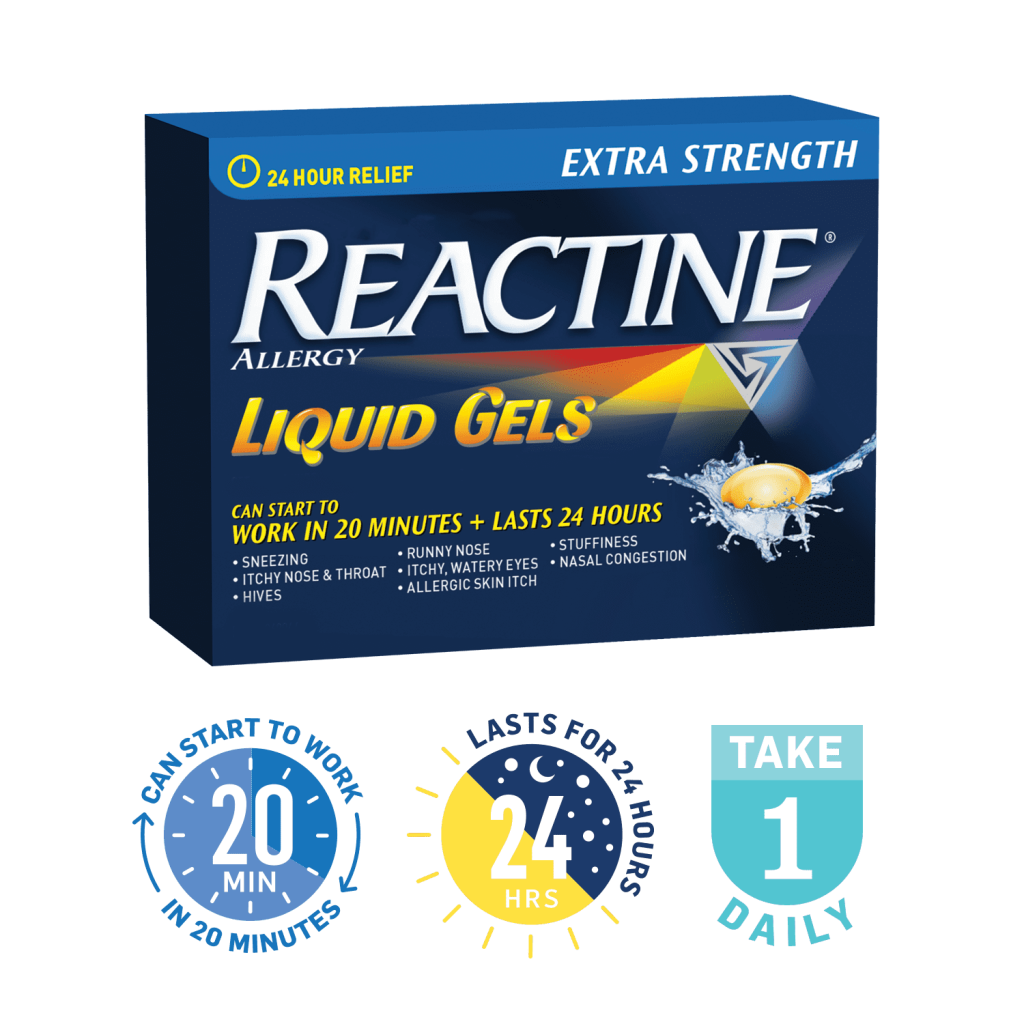 REACTINE® Liquid Gels