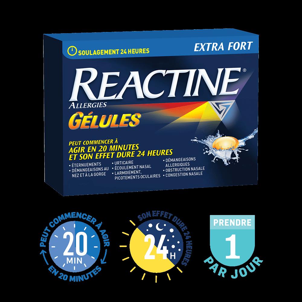 Gélules REACTINE®