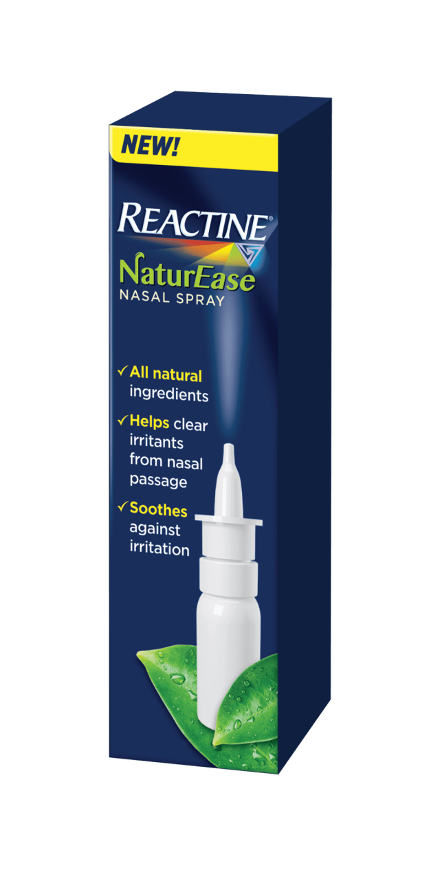 REACTINE® NaturEase Nasal Spray