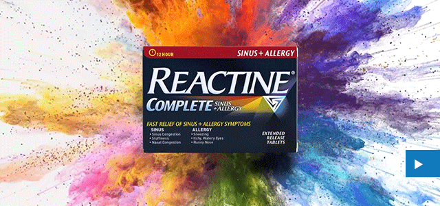 REACTINE® Muddle No More TV